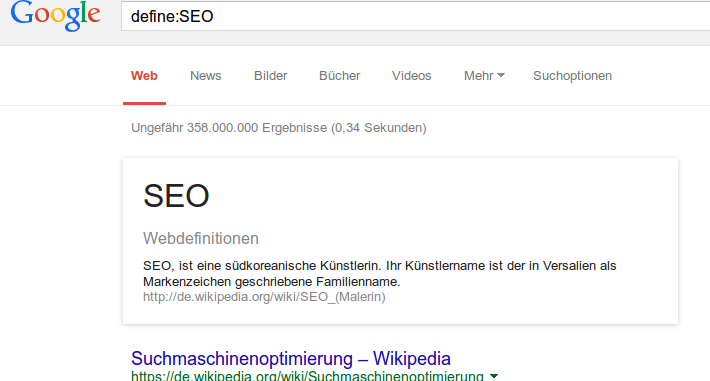define SEO Snippet